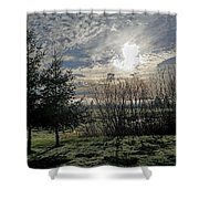 Morning Is Coming Shower Curtain