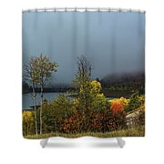 Morning Light And Fog Shower Curtain