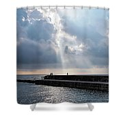 Morning Light At The Cobb Shower Curtain