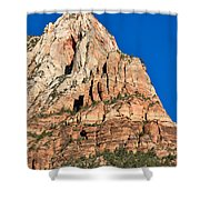 Morning Light In Zion Canyon Shower Curtain