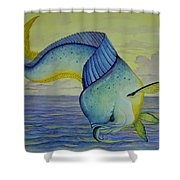 Morning Meal Shower Curtain