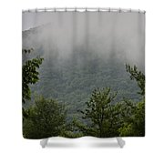 Morning Mist Bluestone State Park West Virginia Shower Curtain