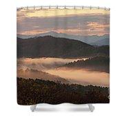 Morning Mist Four Shower Curtain