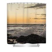 Morning Ocean Mist Shower Curtain
