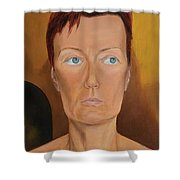 Morning Of Married Woman Shower Curtain