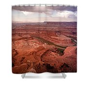Morning On Dead Horse Point Shower Curtain