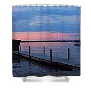 Morning On Lake Huron Shower Curtain