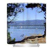 Morning On Lake Tahoe Shower Curtain