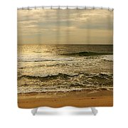 Morning On The Beach - Jersey Shore Shower Curtain