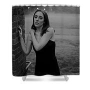 Morning Orchestra Shower Curtain