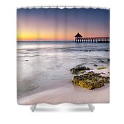 Morning Pastels Shower Curtain