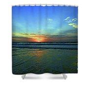 Morning Sea Foam Shower Curtain