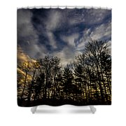 Morning Sky Shower Curtain