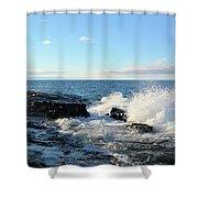 Morning Splash 2 Shower Curtain