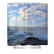 Morning Splash Shower Curtain