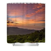 Morning Start. Shower Curtain by Itai Minovitz