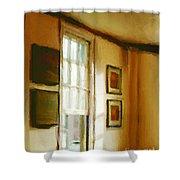 Morning Sun - Paris Shower Curtain