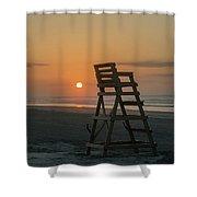 Morning Sun - Wildwood Crest Shower Curtain