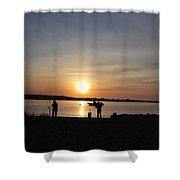 Morning Sunrise 09-02-18 # 9 Shower Curtain