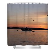 Morning Sunrise 09-02-18 #6 Shower Curtain