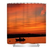 Morning Sunrise 09-02-18 Shower Curtain