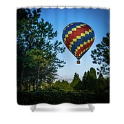 Morning Takeoff Shower Curtain