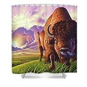 Morning Thunder Shower Curtain