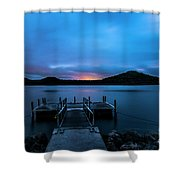 Morning Twilight Shower Curtain