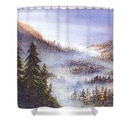 Morning Vista Shower Curtain