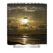 Morning Walk Shower Curtain
