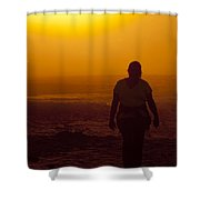Morning Walk Shower Curtain