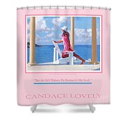 Morning Watch Poster Shower Curtain