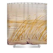 Morning Whiteout               82 Shower Curtain