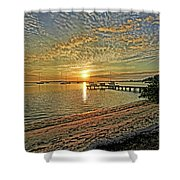 Mornings Embrace Shower Curtain
