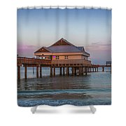 Mornings On The Beach Shower Curtain