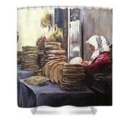 Moroccan Breadmaker Shower Curtain