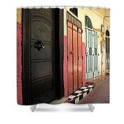 Moroccan Doors Shower Curtain
