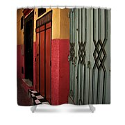 Moroccan Doors Ll Shower Curtain