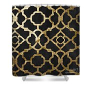 Moroccan Gold IIi Shower Curtain