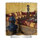 Moroccan Room Shower Curtain