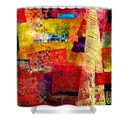 Moroccan Souk Shower Curtain
