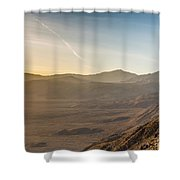 Morongo Valley From On High Shower Curtain