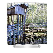 Morris Bridge Shower Curtain