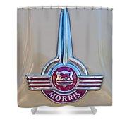 Morris Hood Emblem Shower Curtain