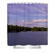 Morris Island Shower Curtain