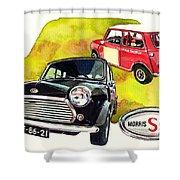 Morris Mini Cooper S Shower Curtain