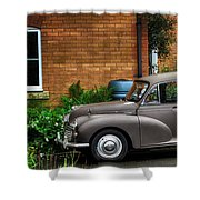 Morris Minor Shower Curtain
