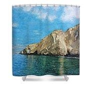 Morro Ballena North Of Chile Shower Curtain