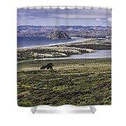 Morro Bay Shower Curtain