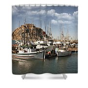 Morro Pier Shower Curtain